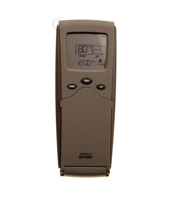 Skytech Sky 3301pf Fireplace Remote Control With Timer Thermostat Fan Control N Ebay