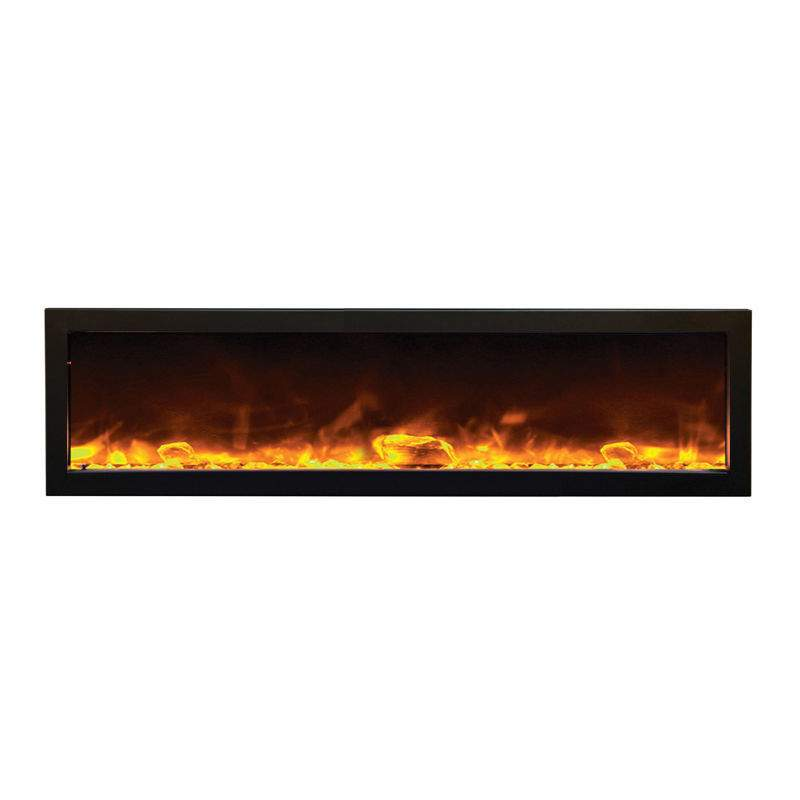 Amantii Indoor Panorama Series Slim Electric Fireplace 60 Inch New Ebay