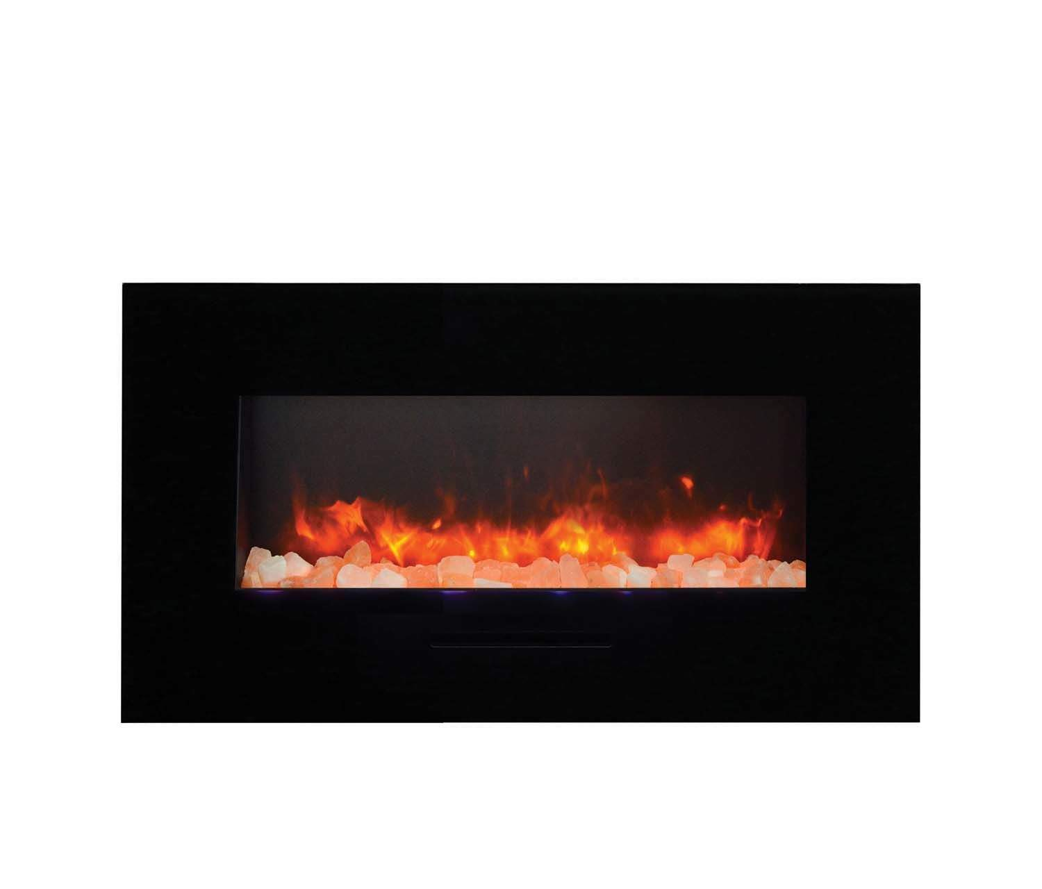 amantii wall mount flush mount series electric fireplace