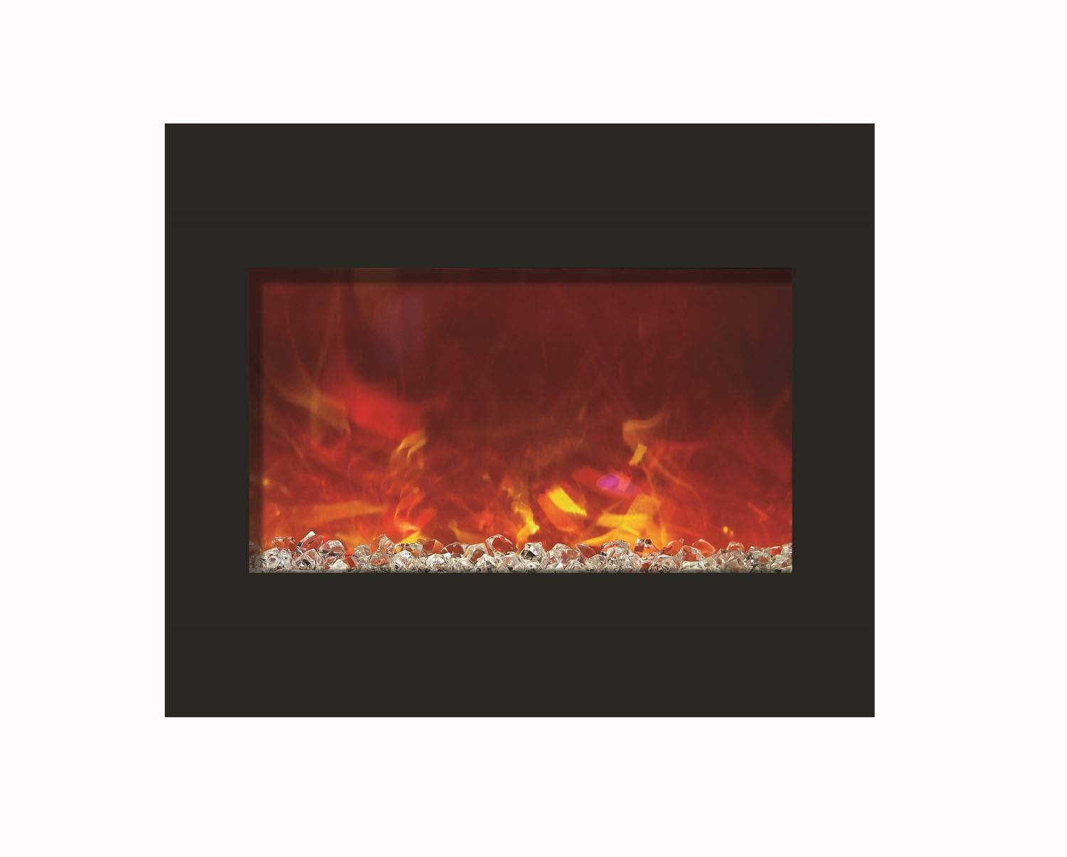 Amantii Zero Clearance Series Built In Electric Fireplace 30 Inch New Ebay