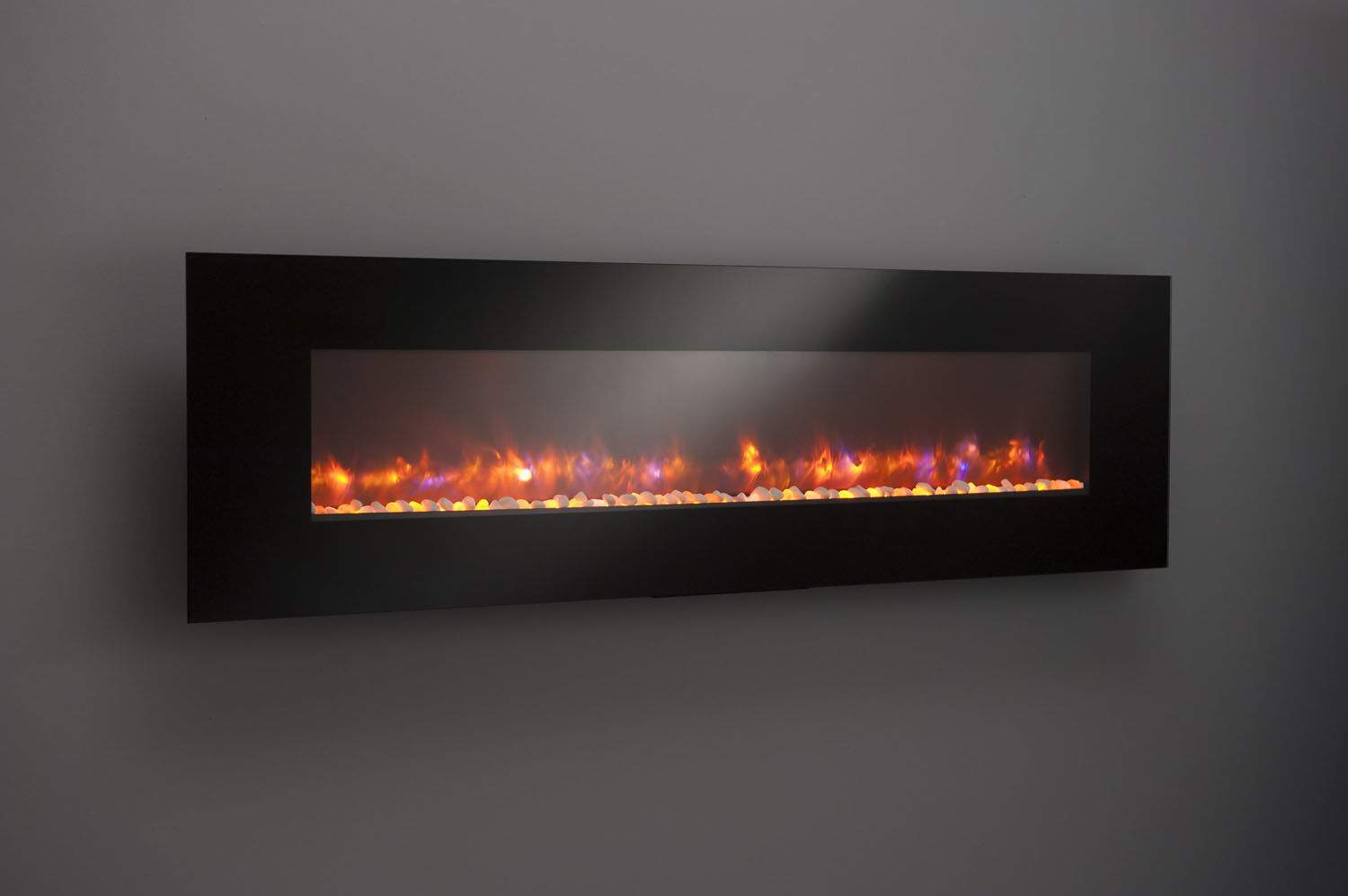 Greatco Gallery Series Built In Electric Fireplace 94 Inch New