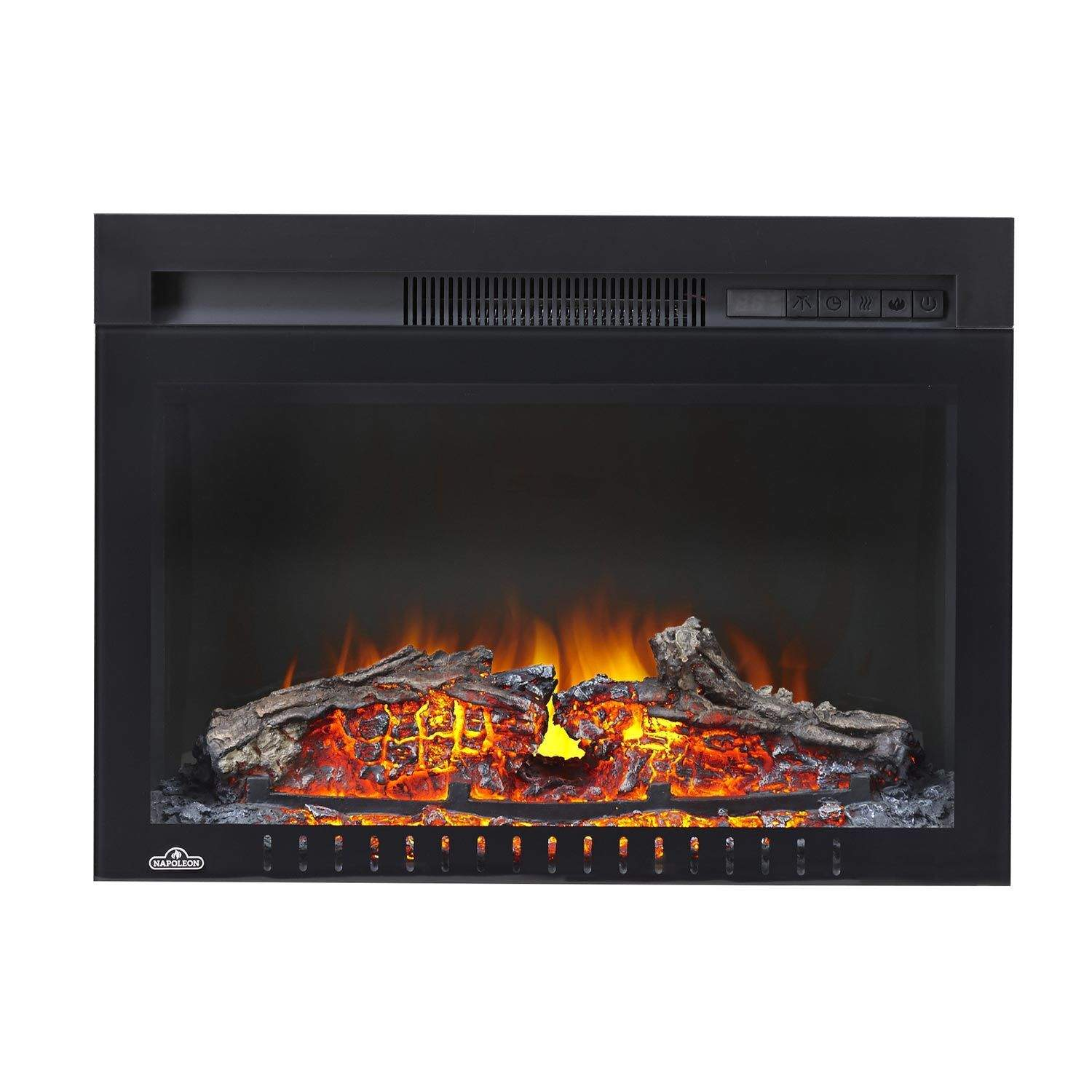 Napoleon Nefb24h 3a Cinema Series Built In Electric Fireplace 24 Inch New Ebay