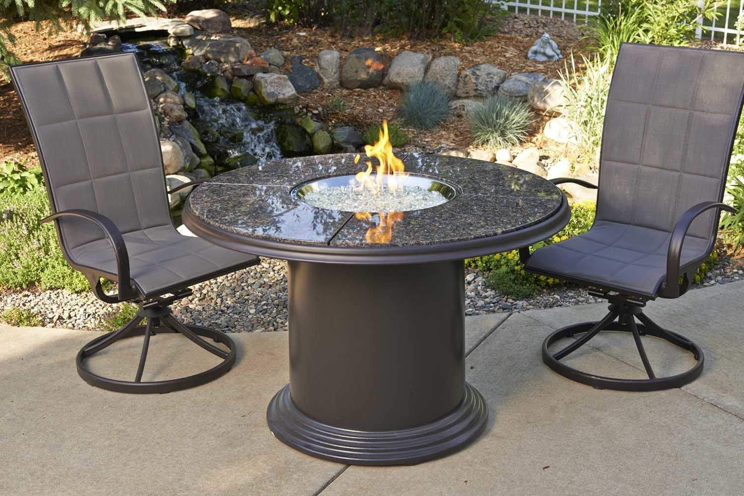 Outdoor Greatroom Grand Colonial Dining Height Gas Fire