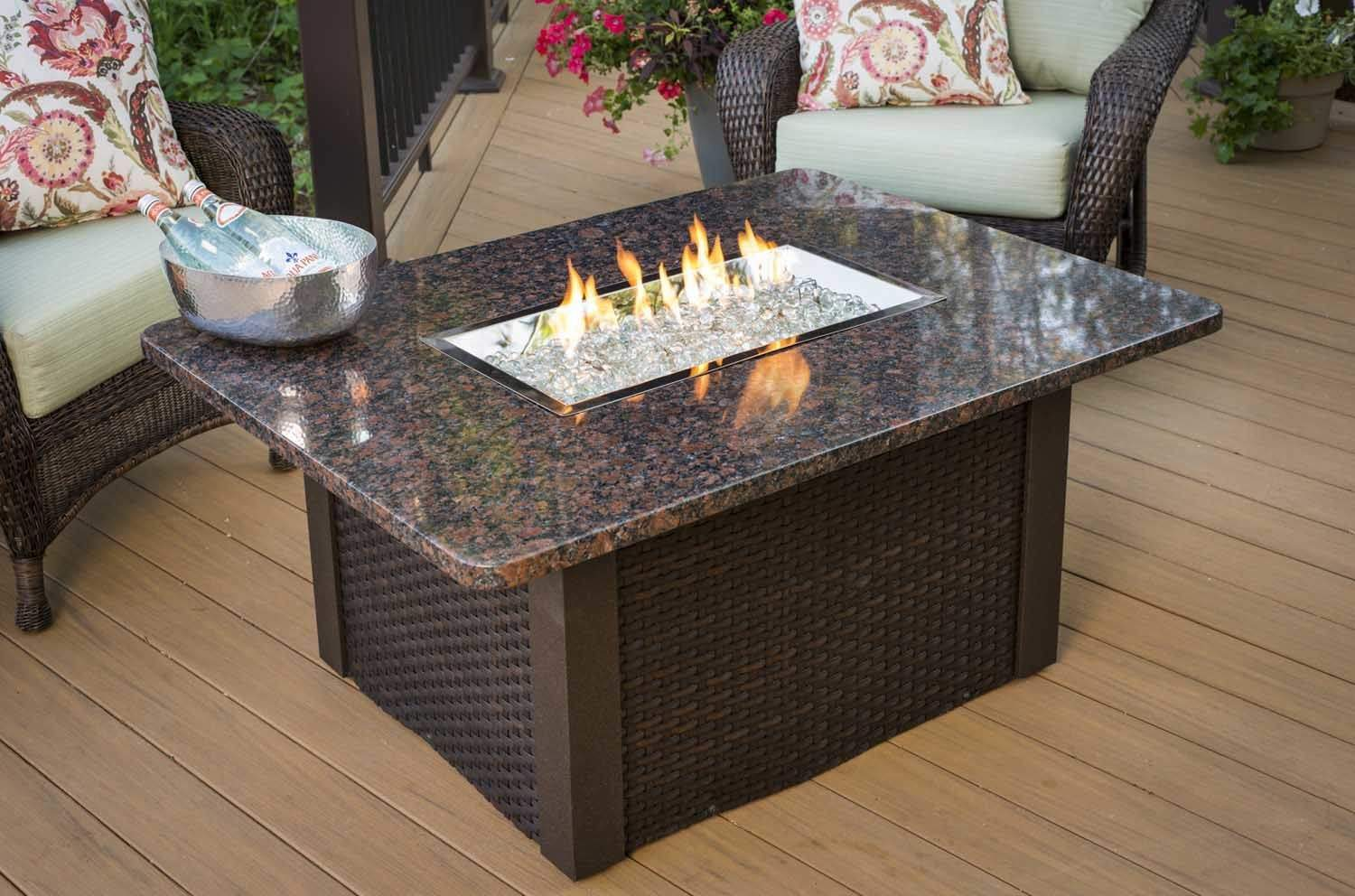 Outdoor Greatroom Grandstone Gas Fire Pit Coffee Table  : GS 1224 BRN W K1 from www.ebay.com size 1500 x 992 jpeg 145kB