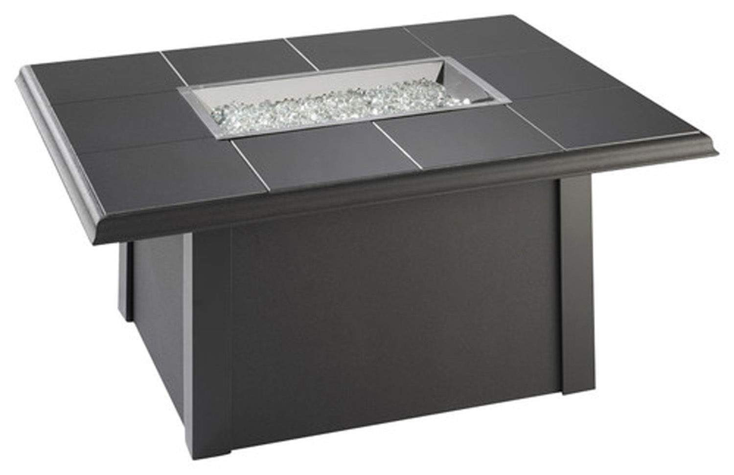Outdoor Greatroom Napa Valley Gas Fire Pit Coffee Table With Black Metal Base N Ebay