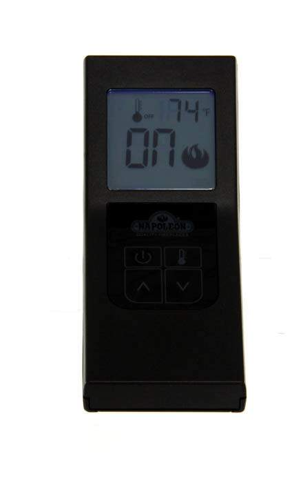 Napleon F60 Fireplace Remote Control with Timer Thermostat