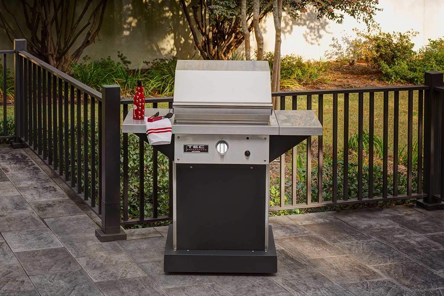 TEC Patio 1 FR Infrared Propane Gas Grill On Stainless