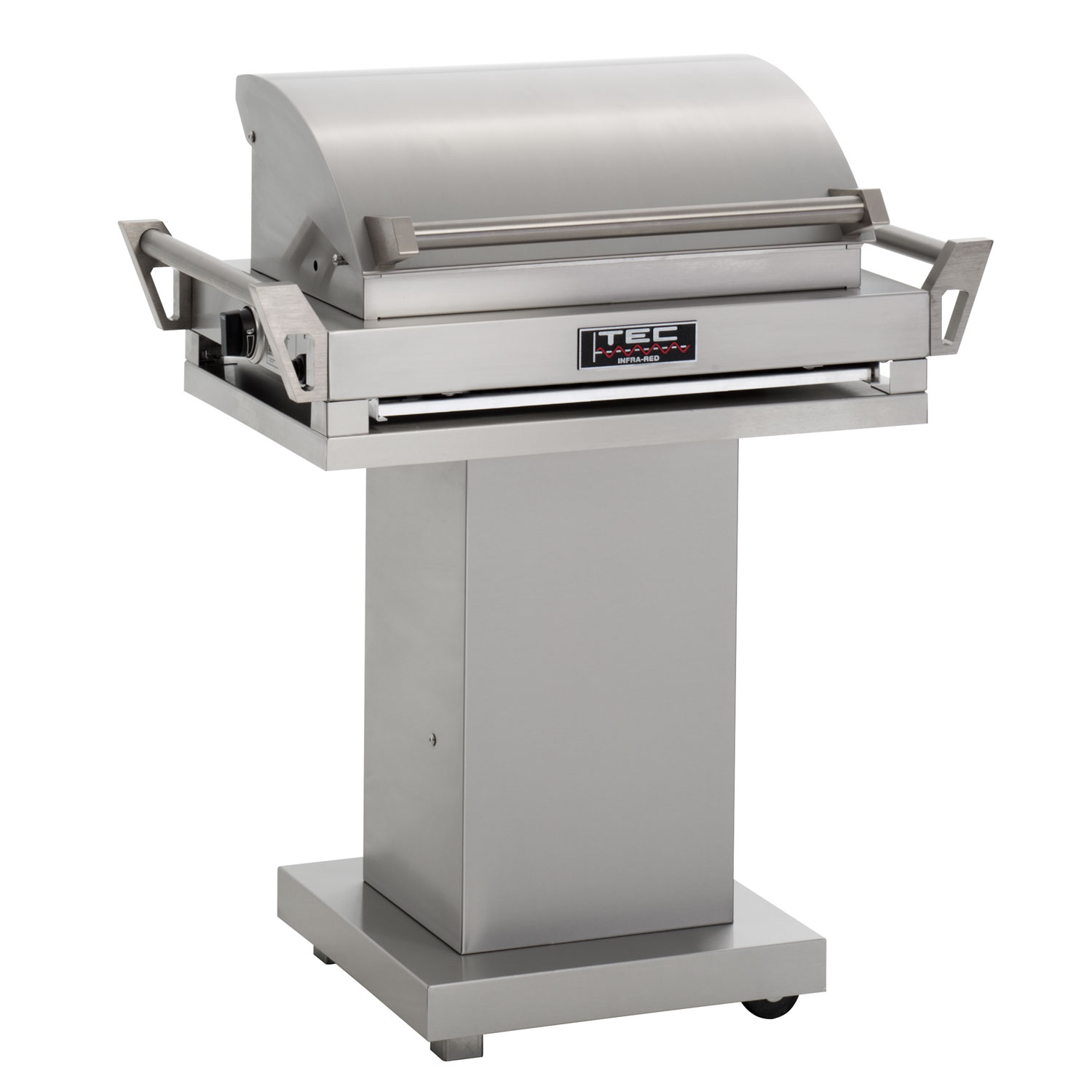Tec g sport fr natural gas grill on stainless steel