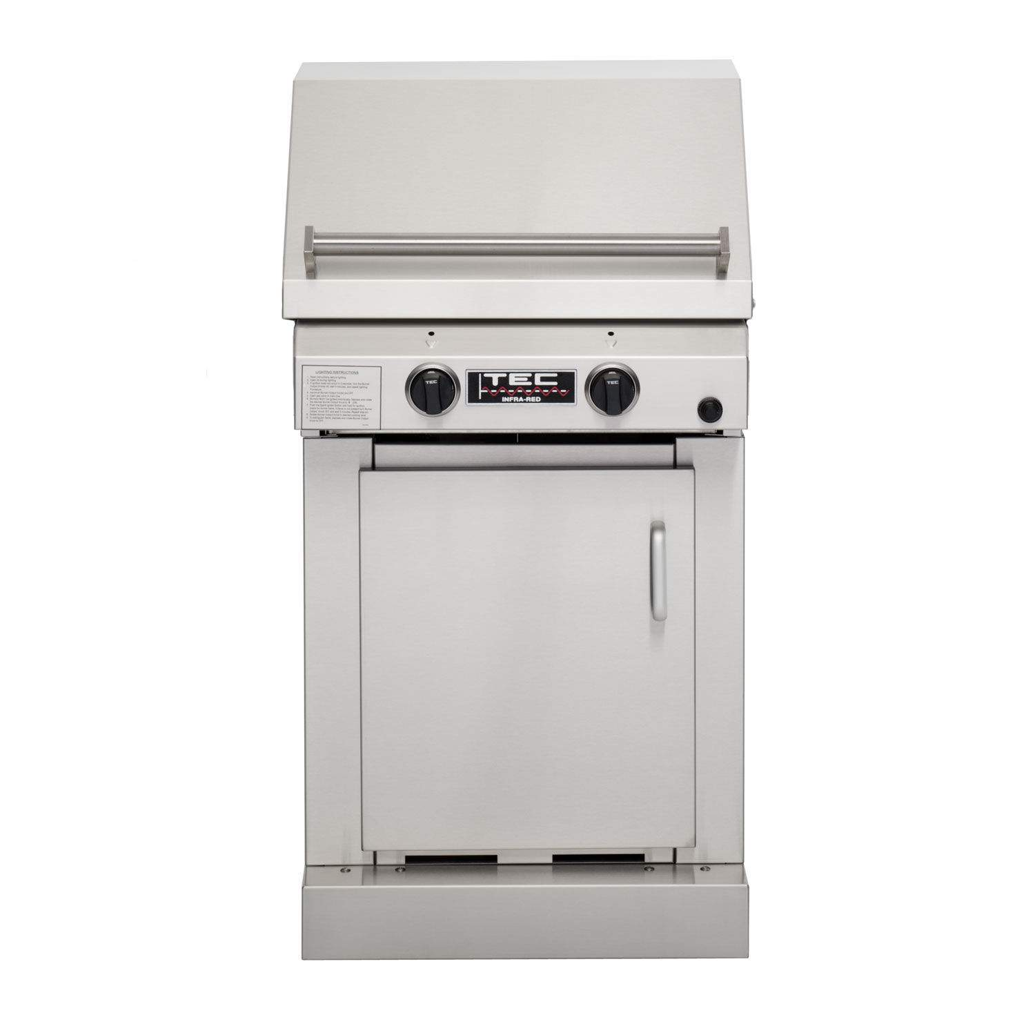 Grill Cabinet: TEC Sterling II FR Infrared Propane Gas Grill On Cabinet